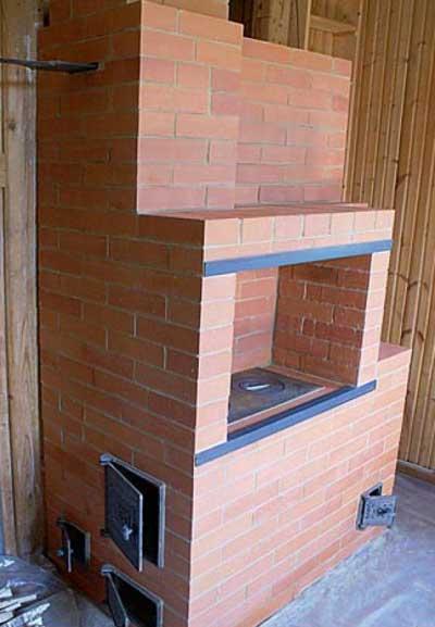 Кирпичная печь для дома своими руками: пошаговая инструкция с
